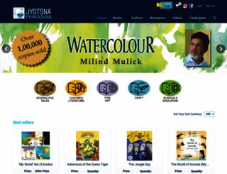 jyotsnaprakashan.com screenshot