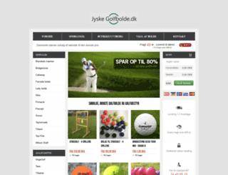 jyskegolfbolde.dk screenshot