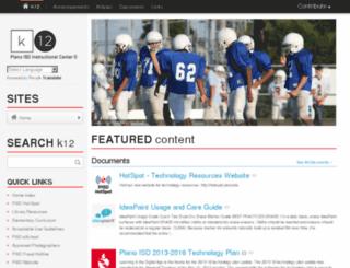 k-12.pisd.edu screenshot