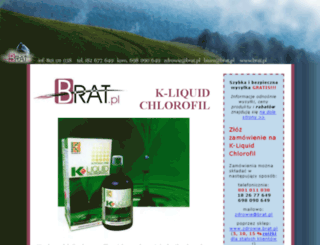 k-liquid-chlorofil.brat.pl screenshot