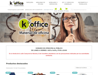 k-office.es screenshot