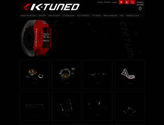 k-tuned.3dcartstores.com screenshot