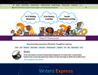 k12.thoughtfullearning.com screenshot
