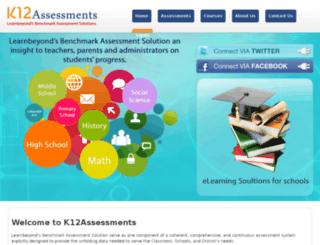 k12assessments.com screenshot