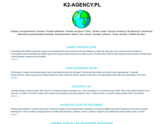 k2-agency.pl screenshot