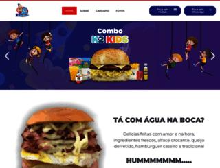k2lanches.com.br screenshot