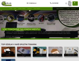 k2plus.si screenshot