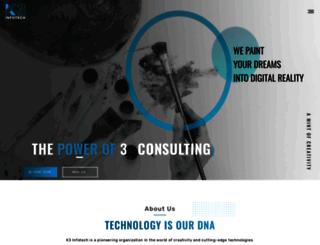 k3infotech.in screenshot