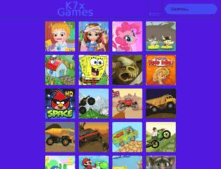 k7xgames.org screenshot