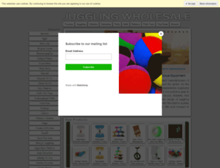 k8juggling.co.uk screenshot