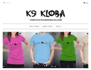 k9-kloba.myshopify.com screenshot