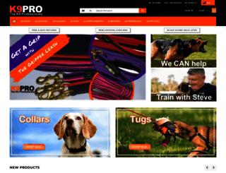 k9pro.com.au screenshot