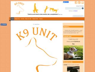 k9unit.ro screenshot