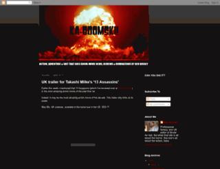 ka-boomski.blogspot.com screenshot
