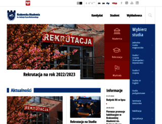 ka.edu.pl screenshot