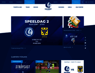 kaagent.be screenshot
