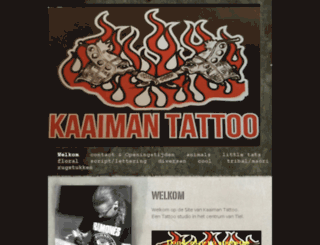 kaaimantattoo.nl screenshot