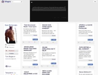 kaanlazayiflama.blogcu.com screenshot