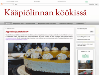 kaapiolinna.blogspot.fi screenshot