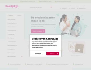 kaartje2go.nl screenshot