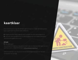 kaartklaar.nl screenshot