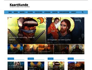 kaartkunde.nl screenshot