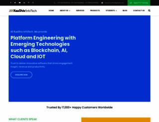 kaashivinfotech.com screenshot