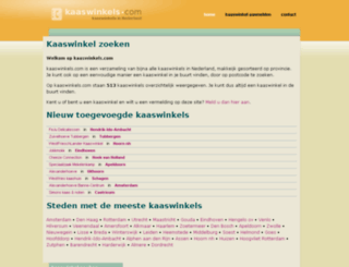 kaaswinkels.com screenshot