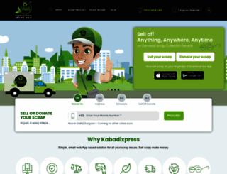 kabadiexpress.com screenshot