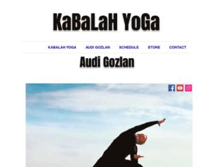 kabalahyoga.com screenshot