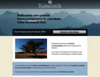 kabalistik.com screenshot