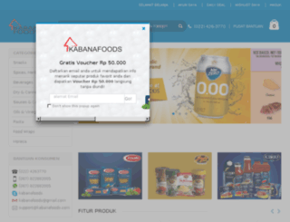 kabanafoods.com screenshot