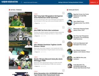 kabarkesehatan.com screenshot