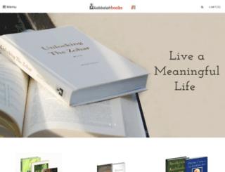 kabbalahbooks.info screenshot