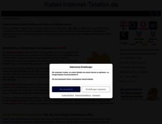 kabel-internet-telefon.de screenshot