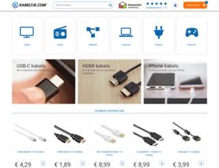 kabeltje.nl screenshot