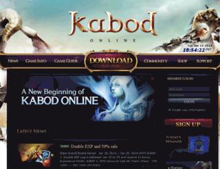 kabodent.co.kr screenshot