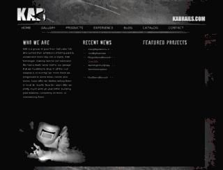 kabrails.com screenshot