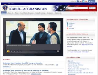 kabul.usembassy.gov screenshot