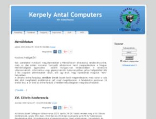 kac.duf.hu screenshot