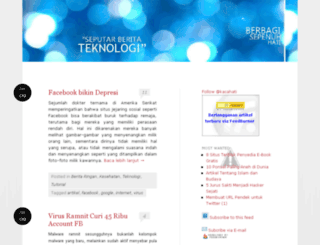 kacahati.wordpress.com screenshot