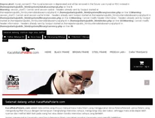 kacamatapolaris.com screenshot