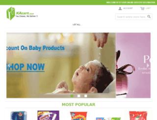 kacart.com screenshot