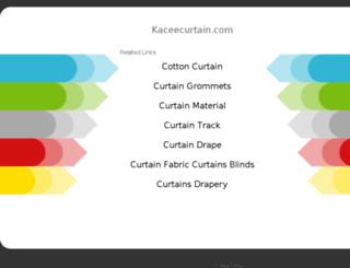 kaceecurtain.com screenshot