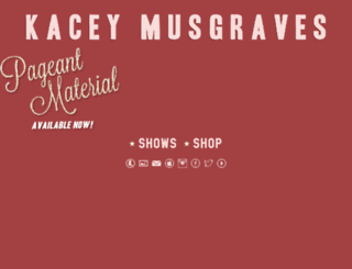 kaceymusgraves.groundctrl.net screenshot