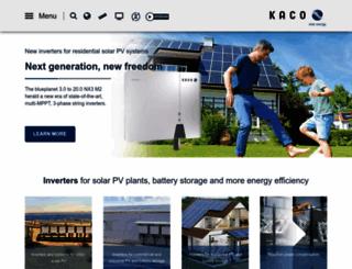 kaco-newenergy.com screenshot