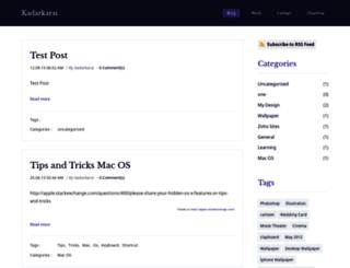 kadarkarai.com screenshot