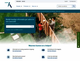 kadaster.nl screenshot