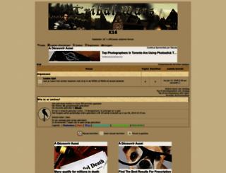 kadaster16.forumotion.com screenshot
