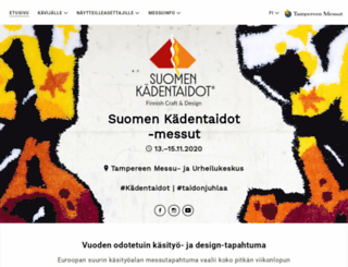 kadentaidot.fi screenshot